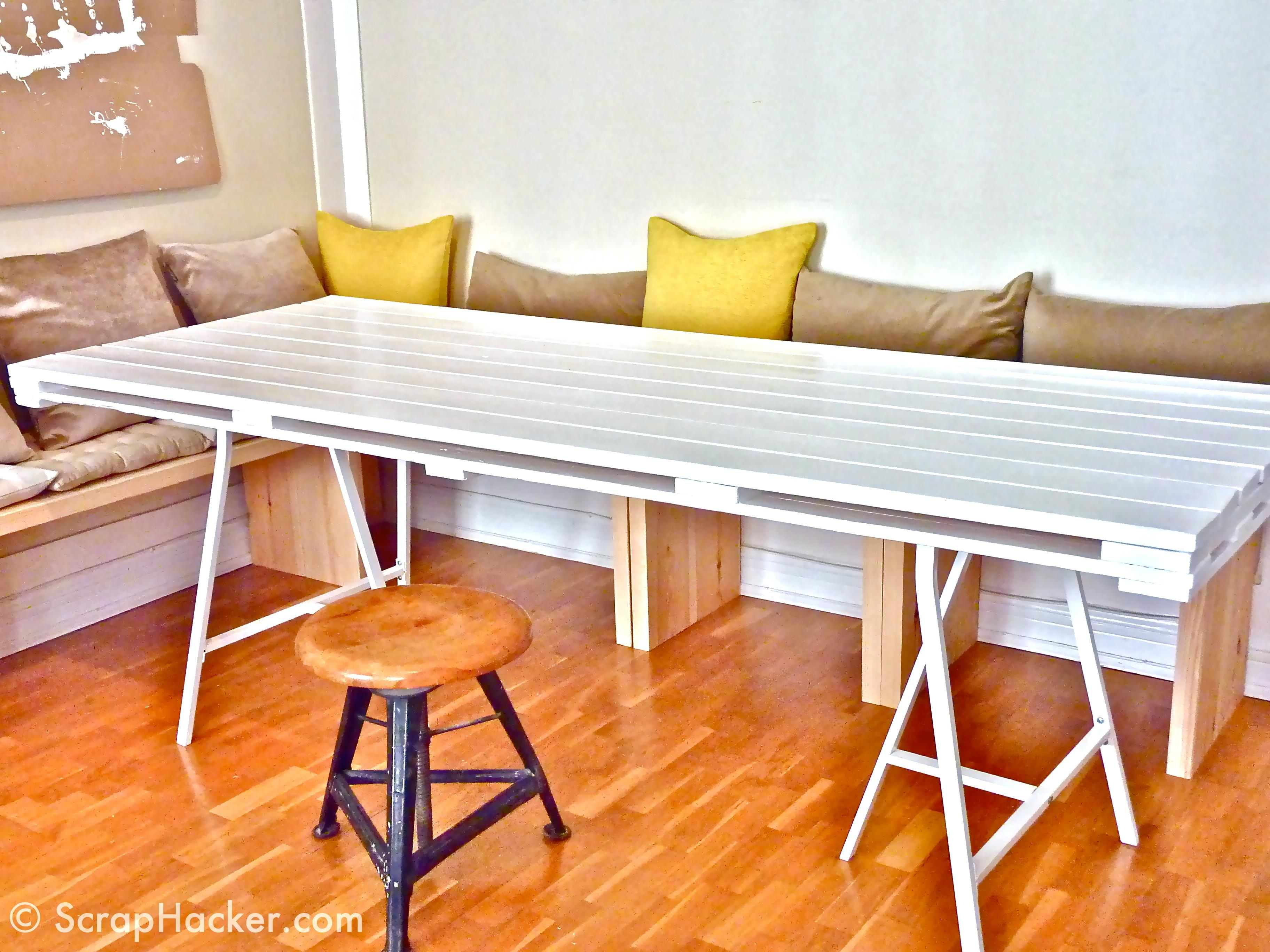 Easy Cost Effective Diy Pallet Dining Tables