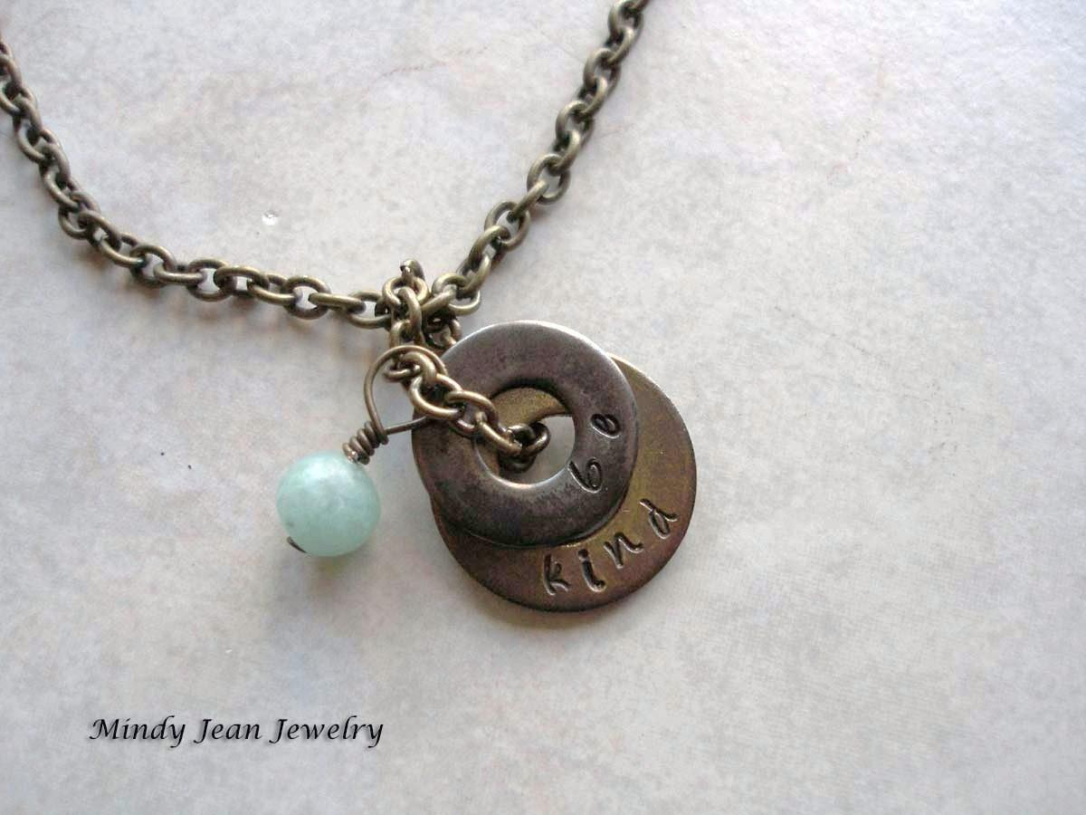 Easy Craft Ideas Make Your Own Washer Necklace