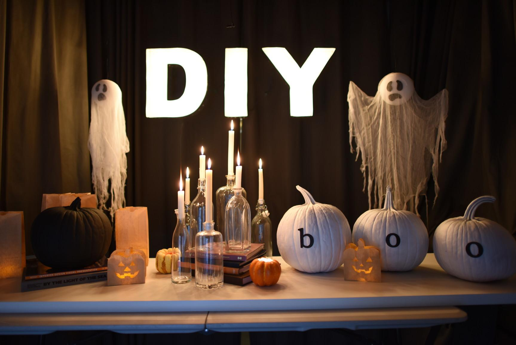 Easy Creepy Yet Classy Halloween Party Decorations