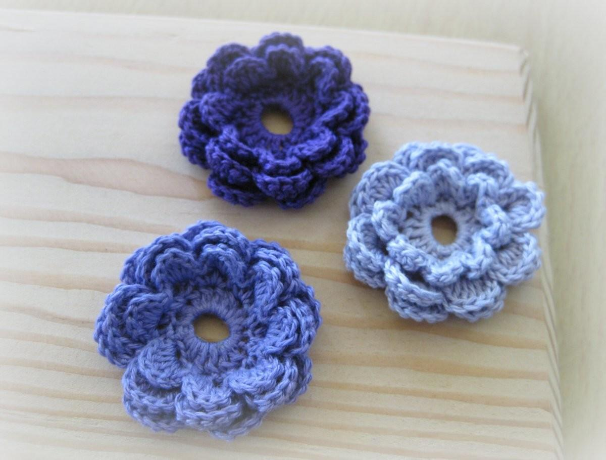 Easy Crochet Flowers Collection