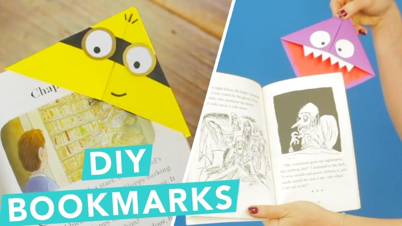 Easy Diy Children Bookmarks Nailed