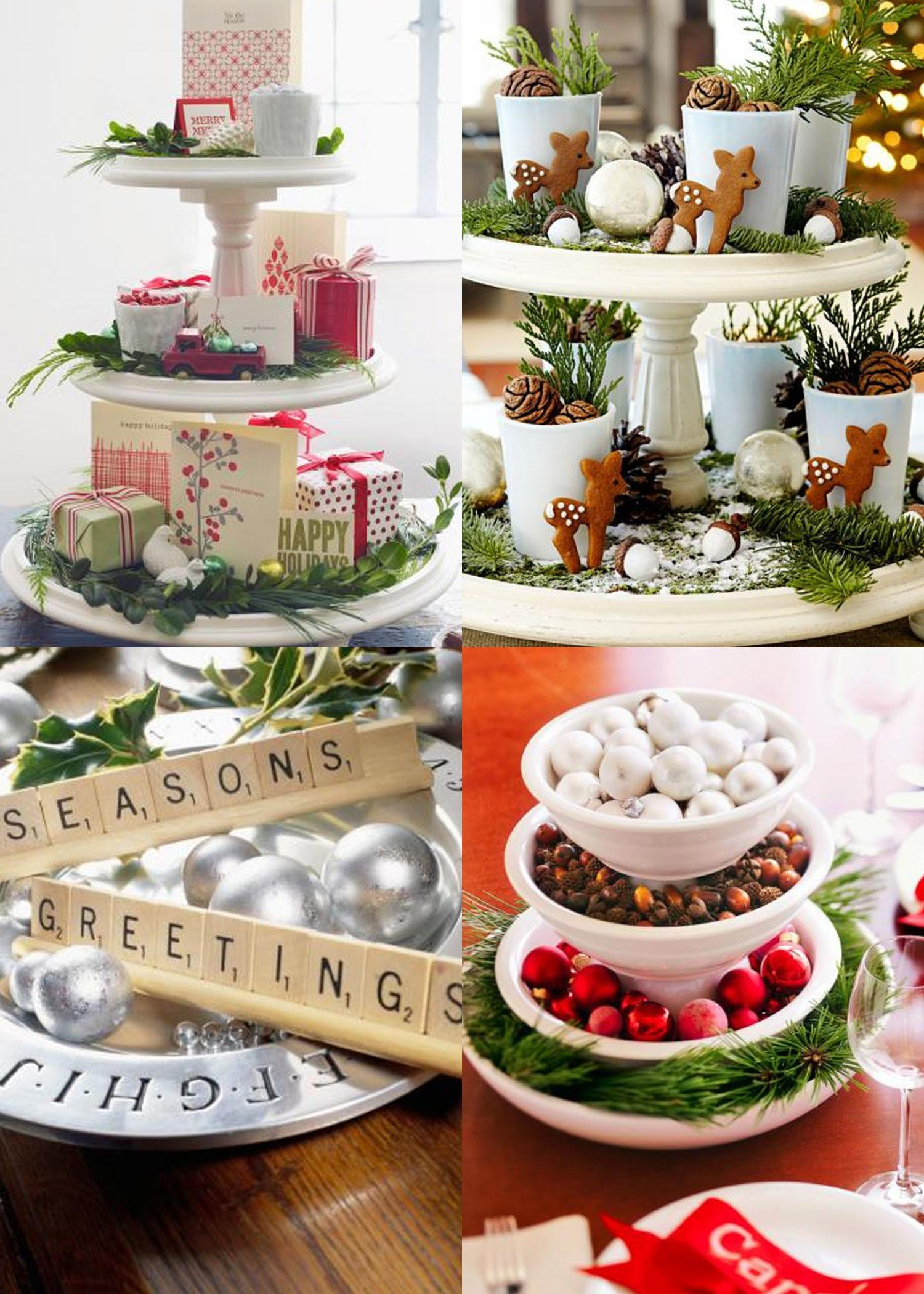 Easy Diy Christmas Centerpieces