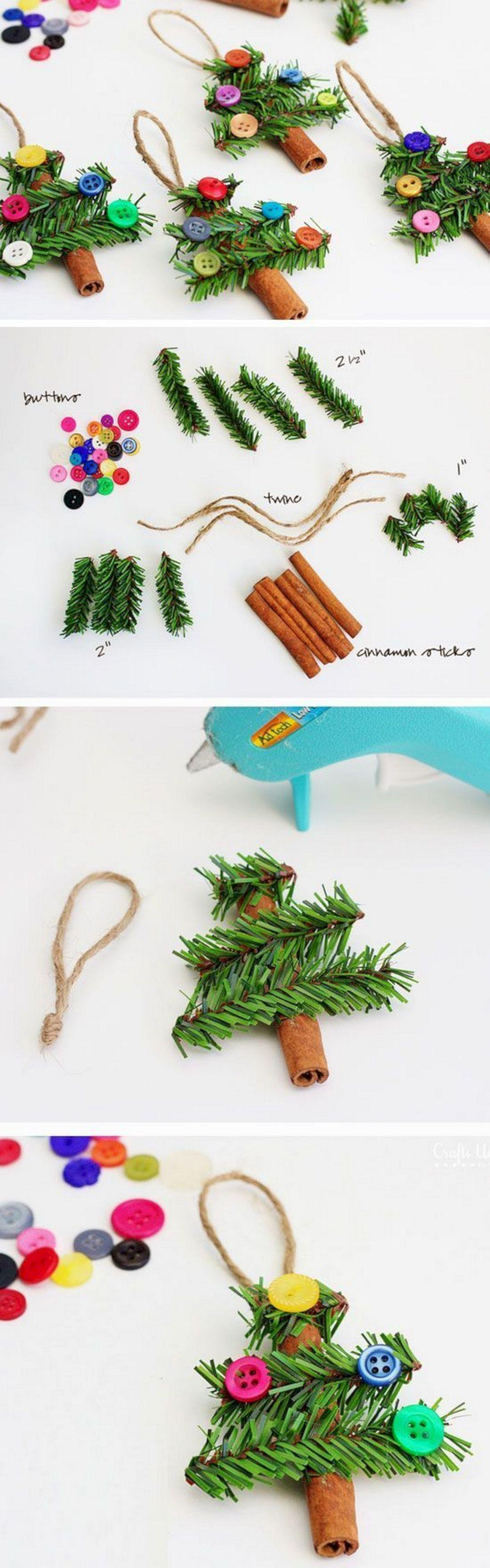 Easy Diy Christmas Crafts Ideas Your Kids 340 Montenr