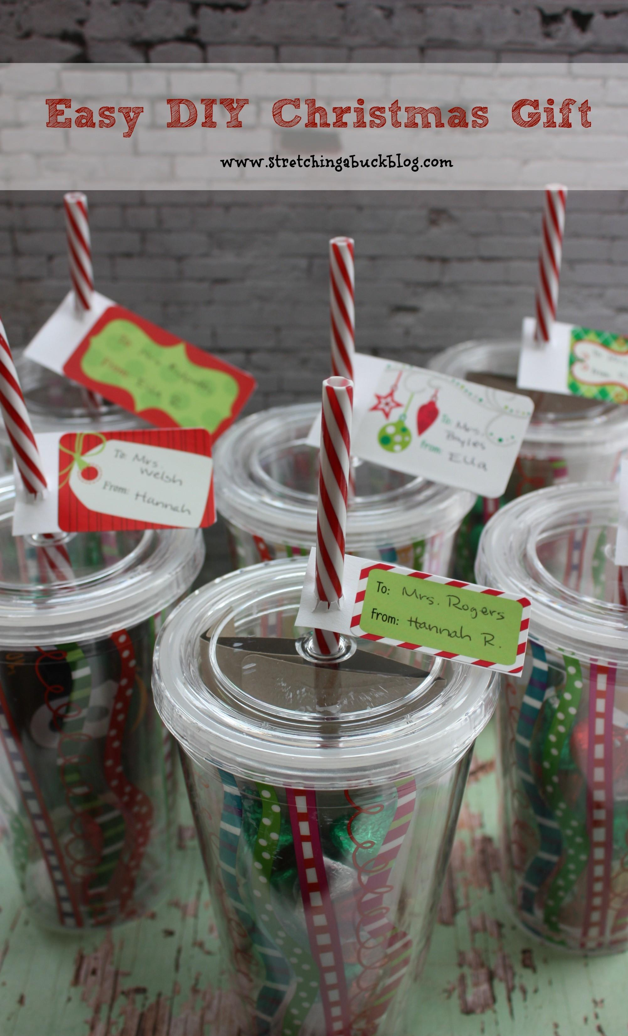 Easy Diy Christmas Gift Idea Teachers Friends More