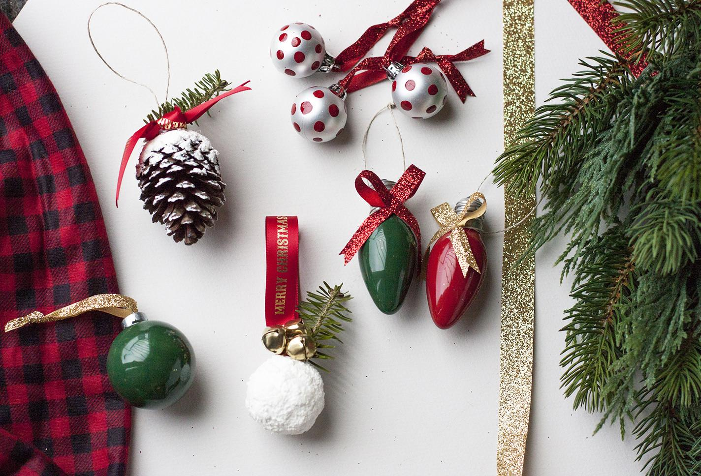 Easy Diy Christmas Ornaments One Afternoon