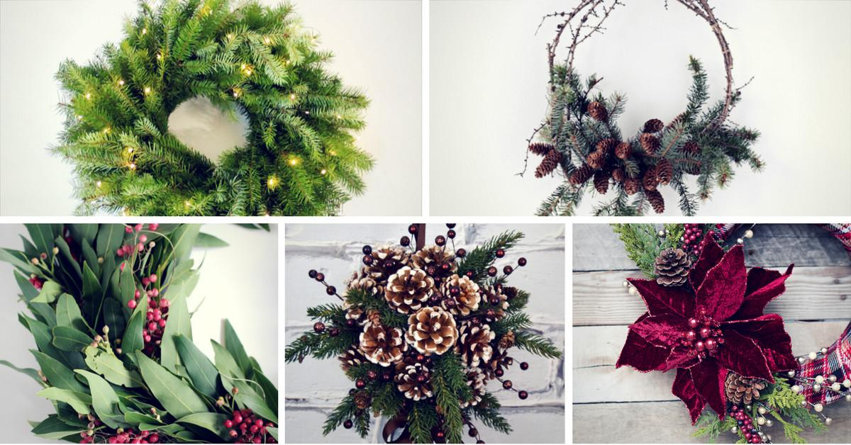 Easy Diy Christmas Wreath Ideas Learn Make