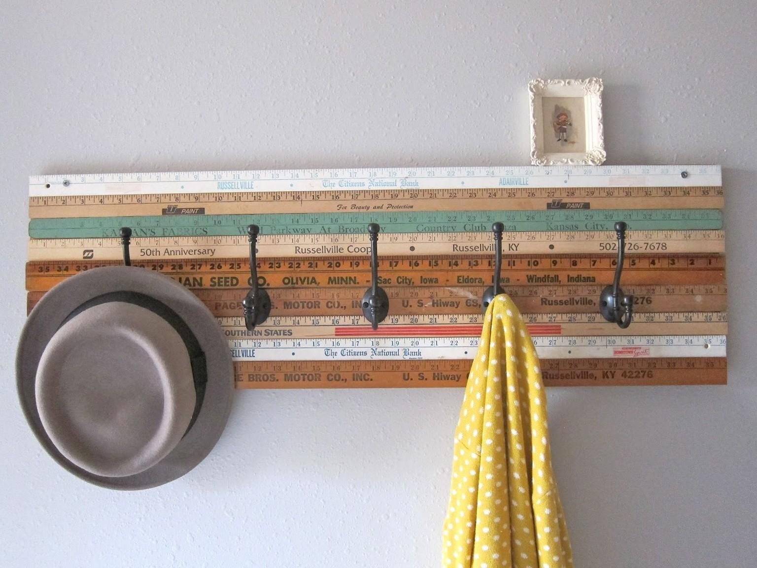Easy Diy Coat Rack Design Ideas
