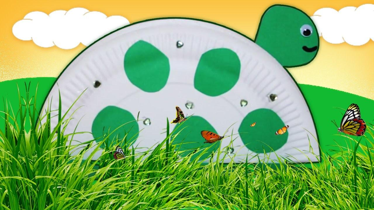 Easy Diy Crafts Ideas Paper Plate Turtle