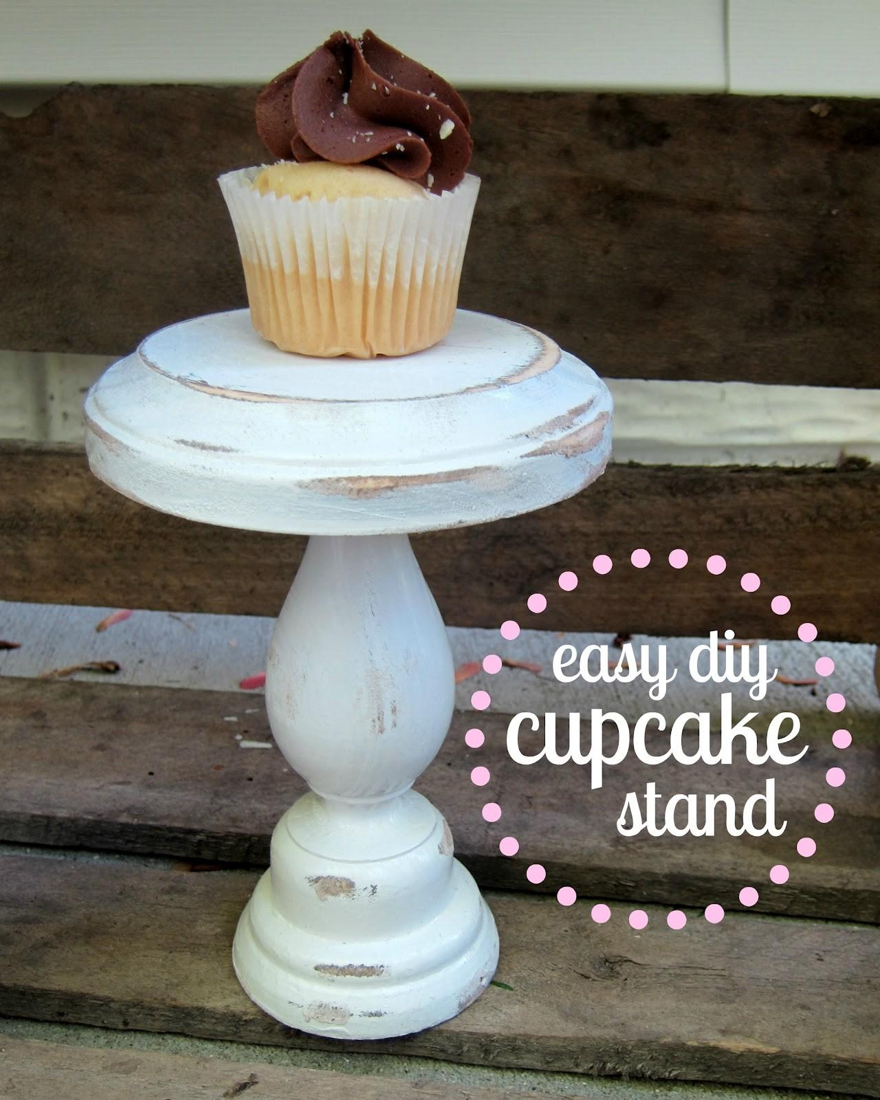Easy Diy Cupcake Stand Simply Kierste Design