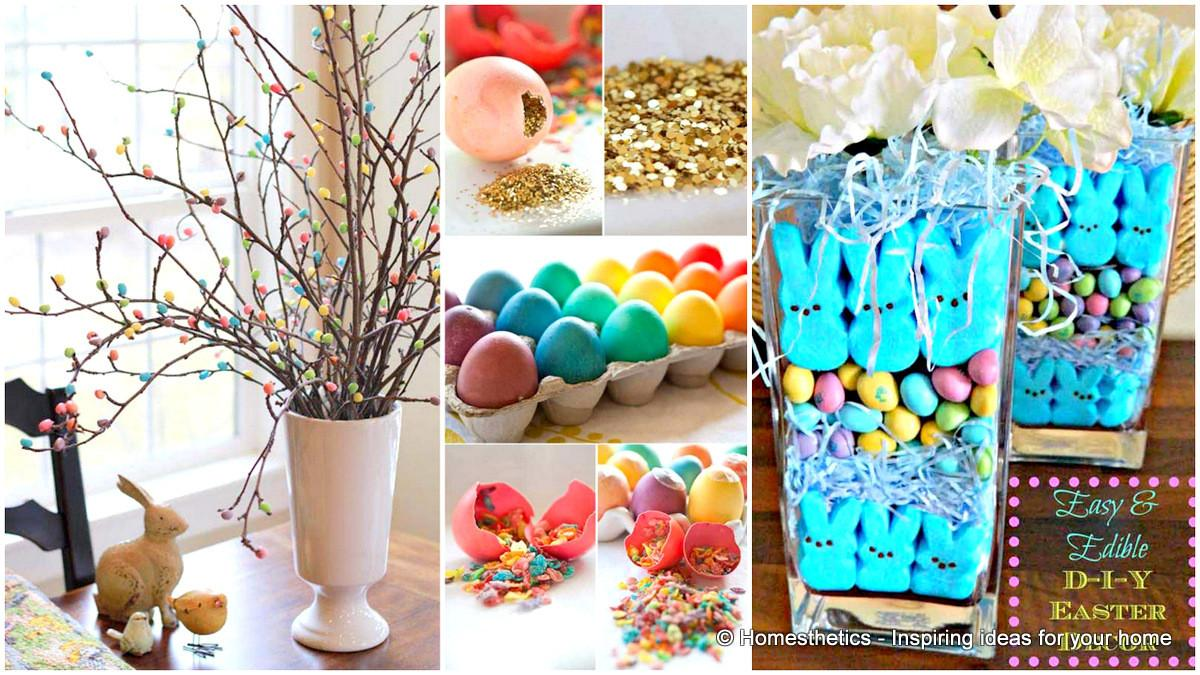 Easy Diy Easter Crafts Brighten Your Home