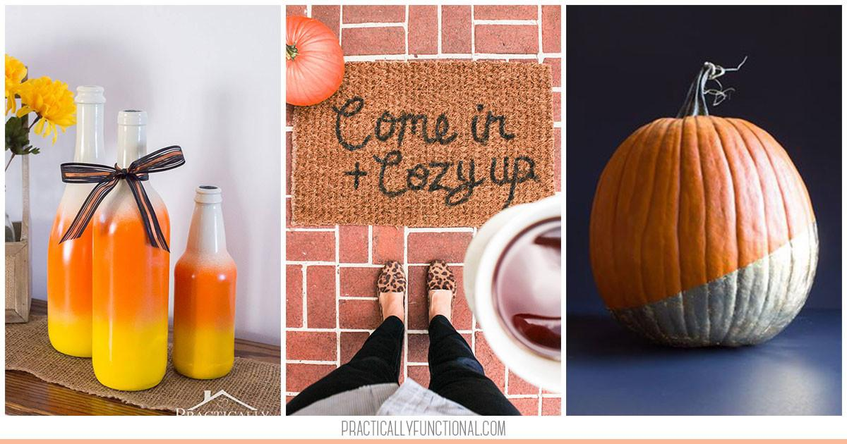 Easy Diy Fall Decor Projects