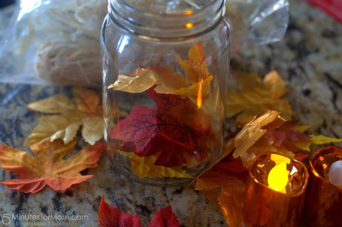 Easy Diy Fall Decoration Harvest Mason Jar