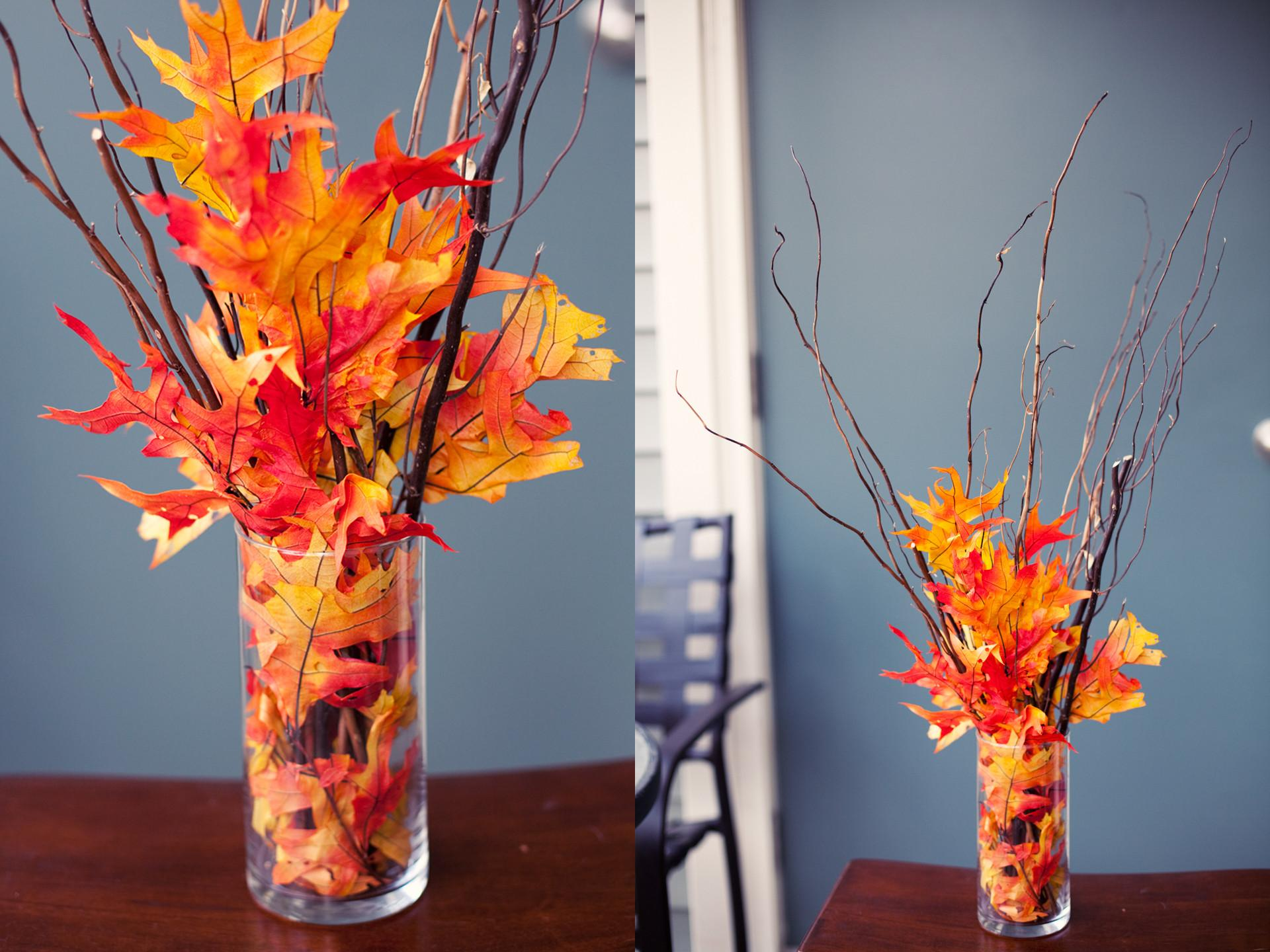 Easy Diy Fall Leaves Potted Topiary Tree Tomato