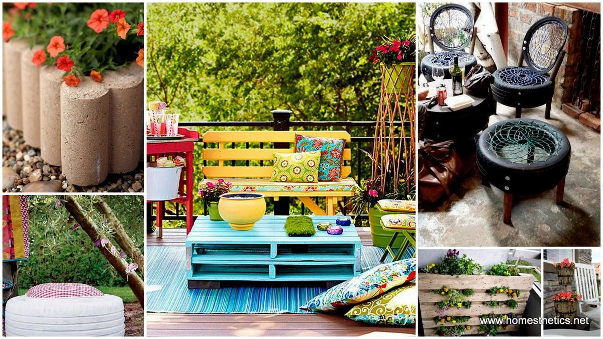 Easy Diy Garden Furniture Projects Meant Inspire