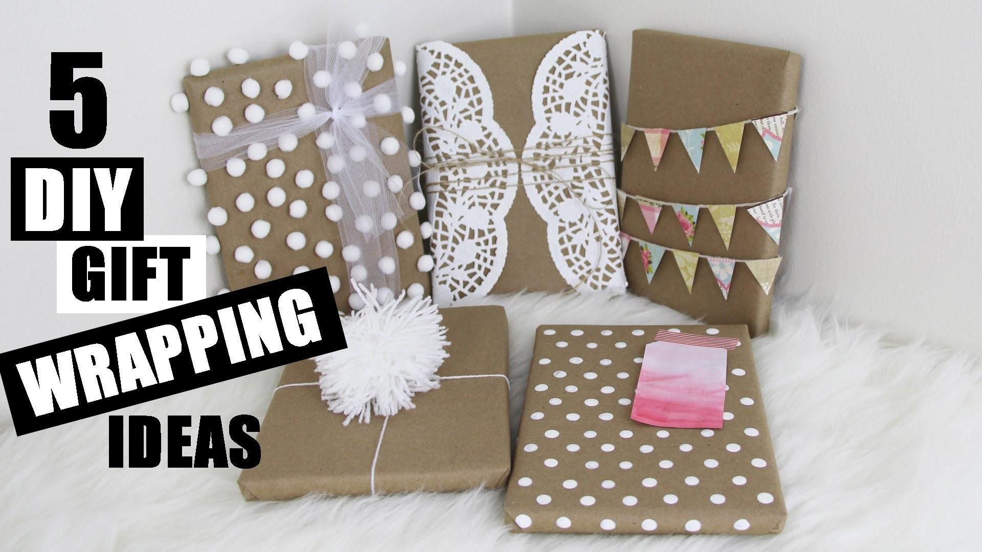 Easy Diy Gift Wrapping Ideas Creative Cute