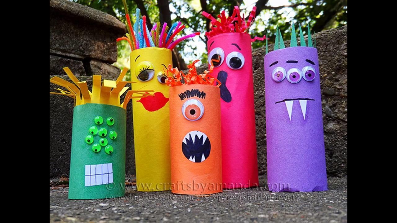 Easy Diy Halloween Construction Paper Crafts Project Ideas
