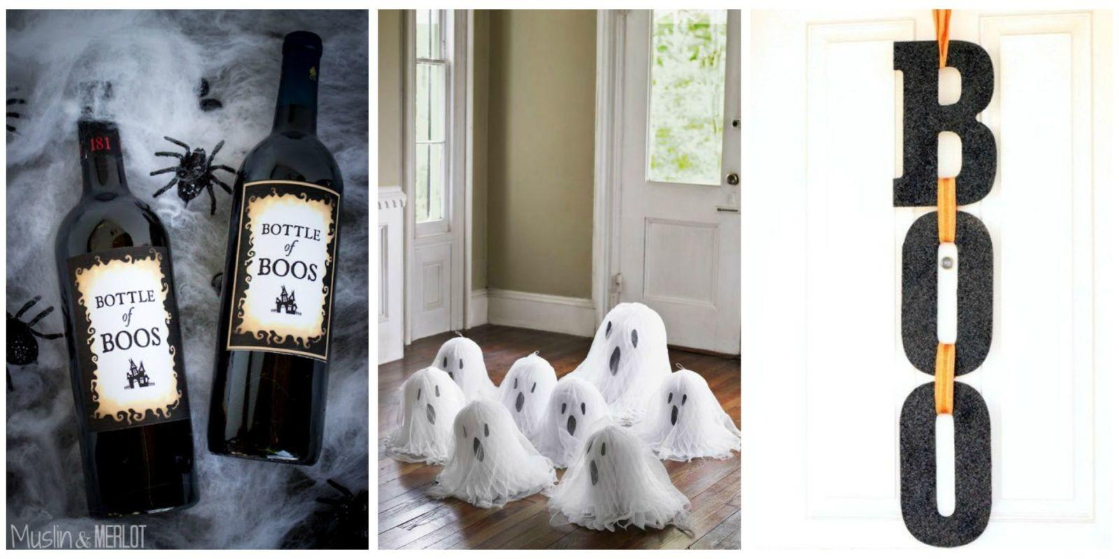 Easy Diy Halloween Decorations Homemade