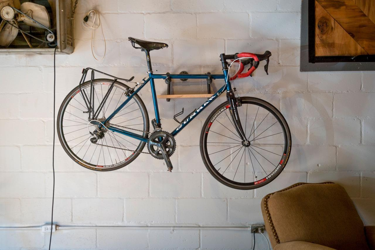 Easy Diy Industrial Style Bike Storage Rack Network