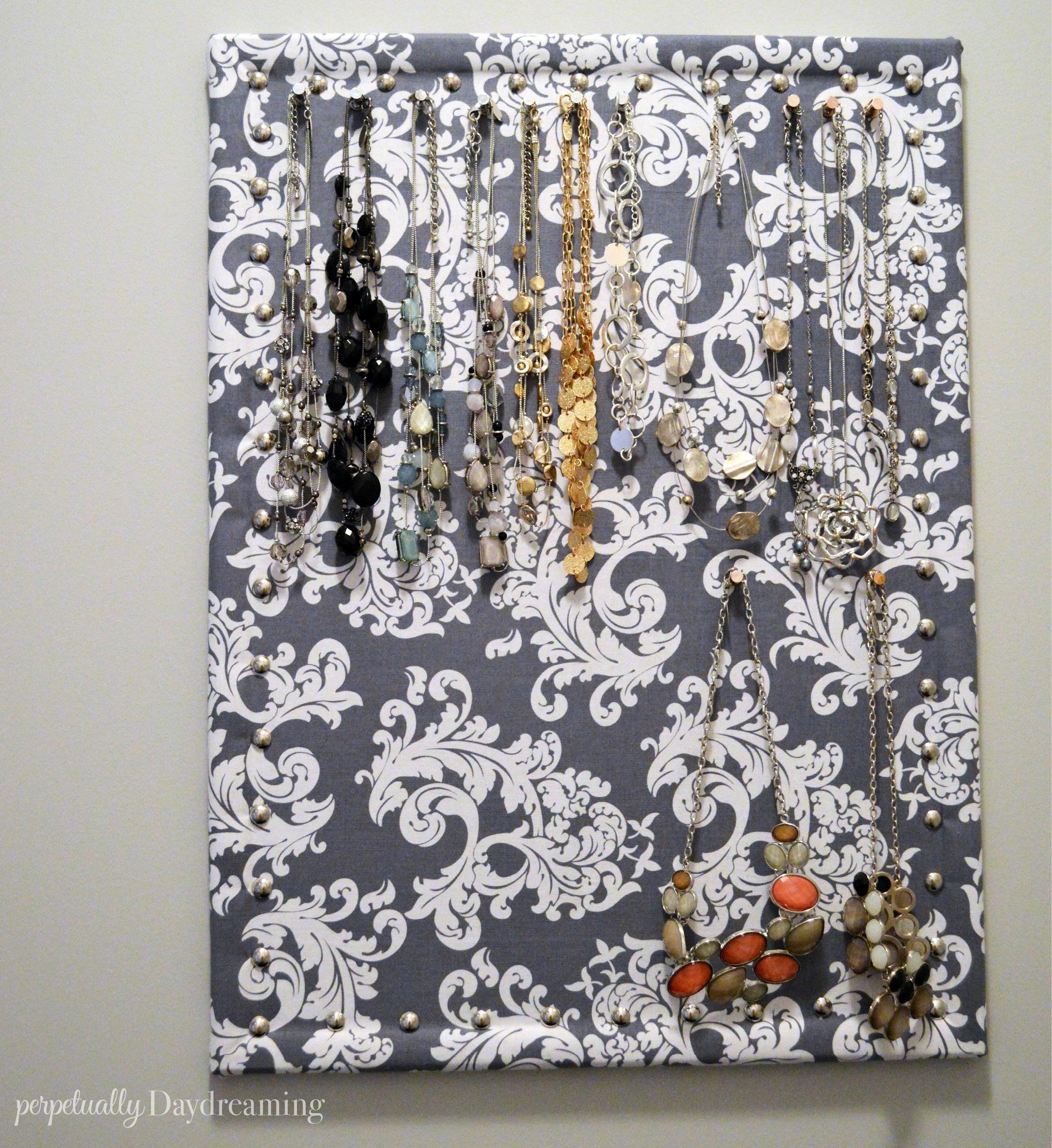 Easy Diy Jewelry Board Perpetually Daydreaming