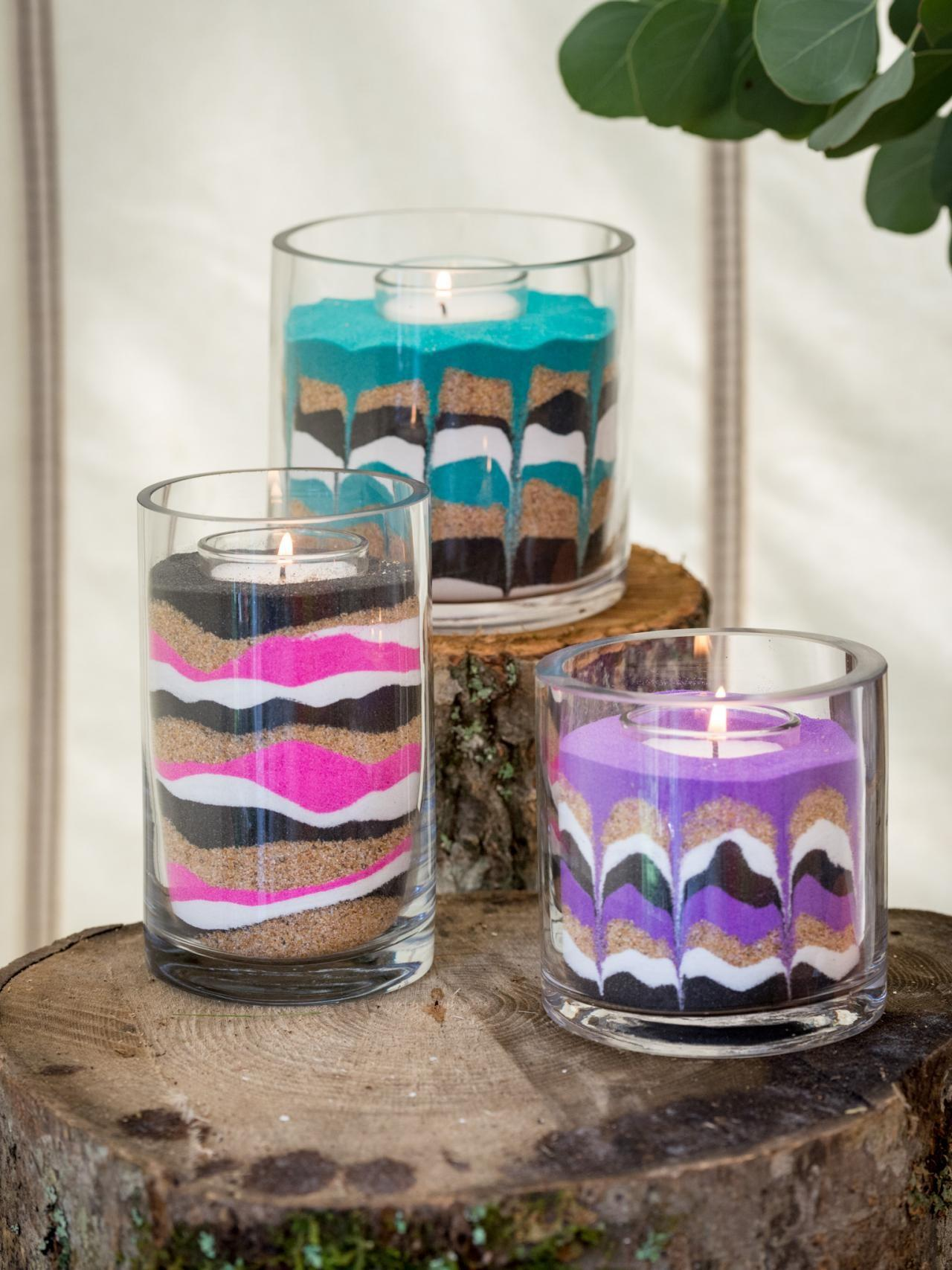 Easy Diy Sand Art Candles