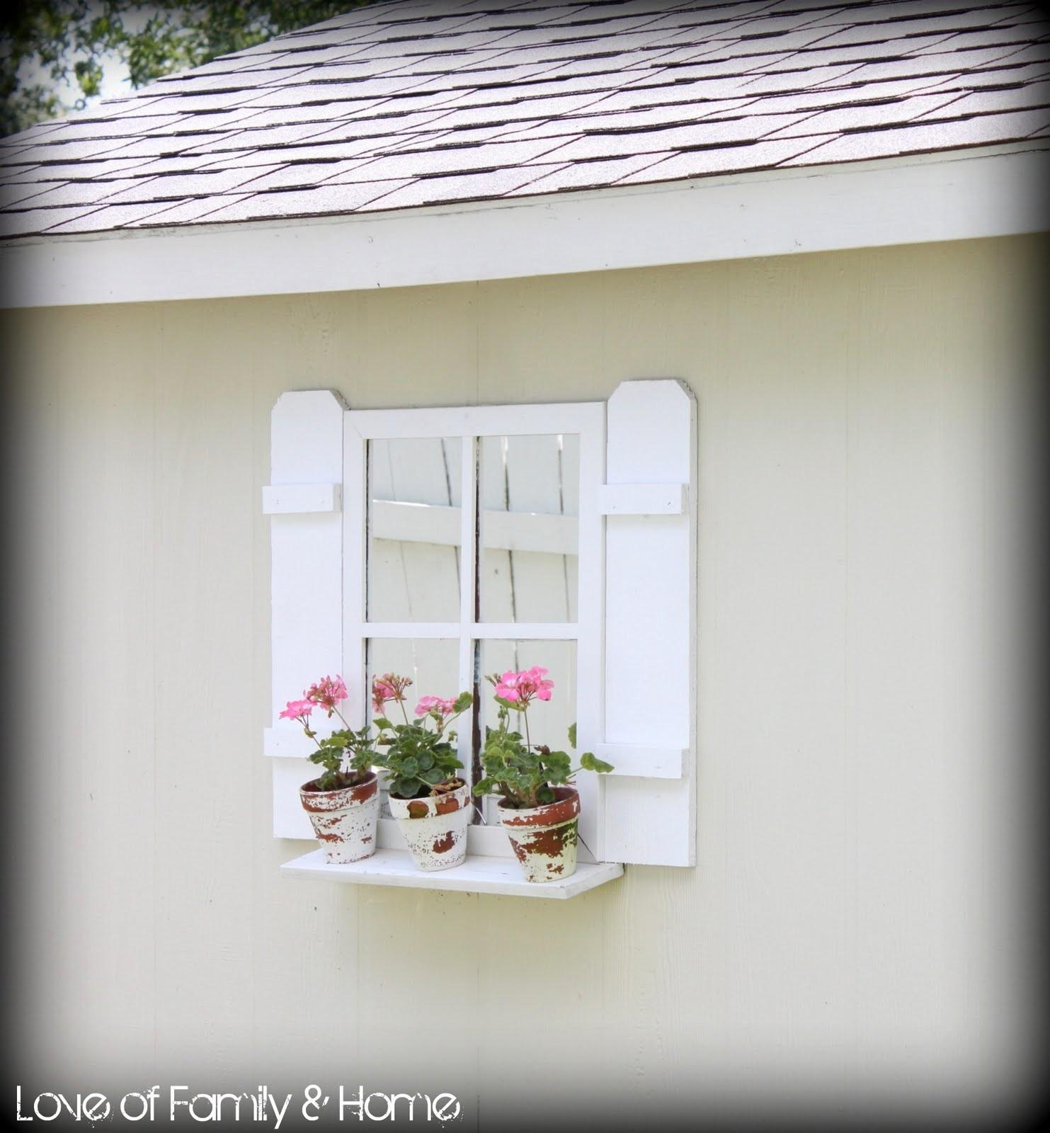 Easy Diy Shutters Shed Love Family Home
