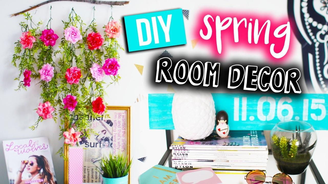 Easy Diy Spring Room Decor Ideas 2016 Laurdiy