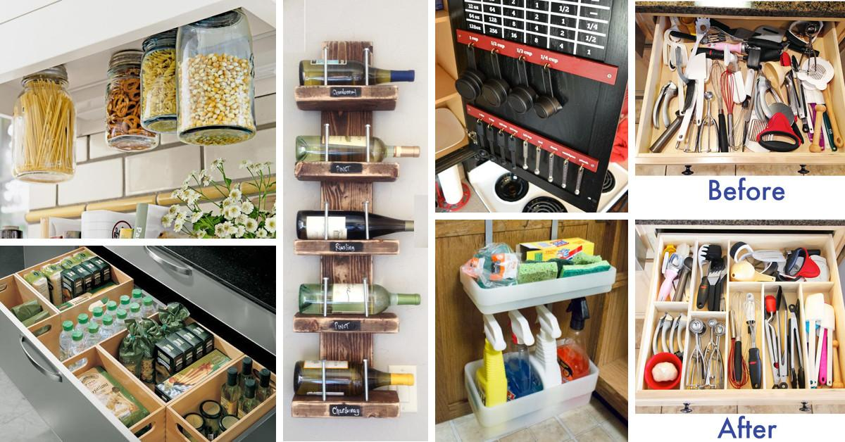 Easy Diy Storage Ideas Small Homes Your Self