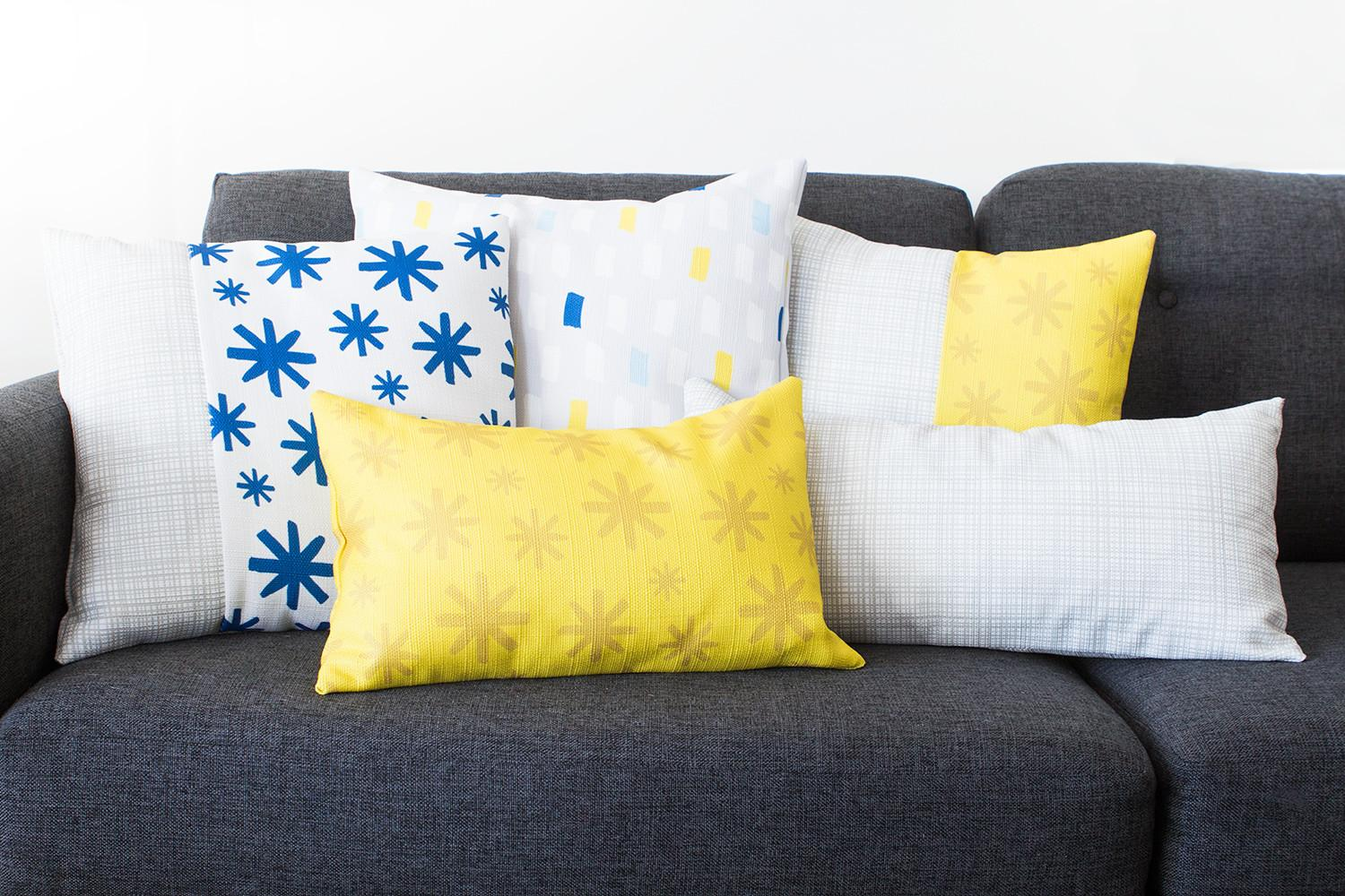 Easy Diy Throw Pillow Covers Sarah Hearts
