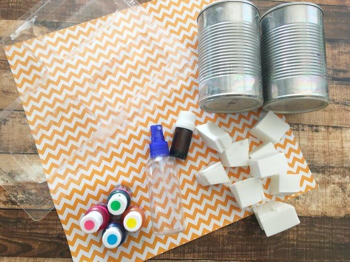 Easy Diy Tie Dye Soap Painted Craft Beauty Cleaning