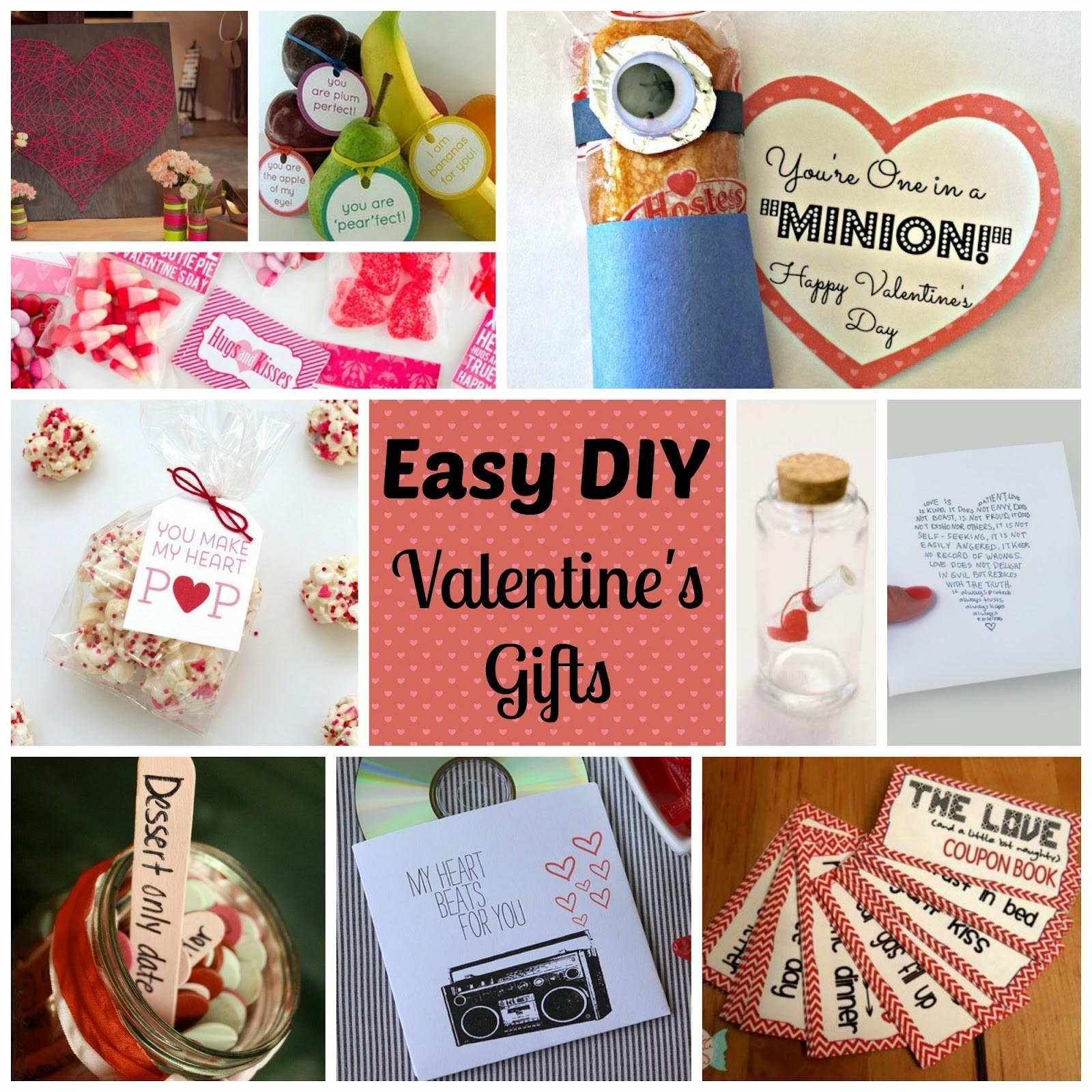 Easy Diy Valentine Gifts Color Palette Lifestyle