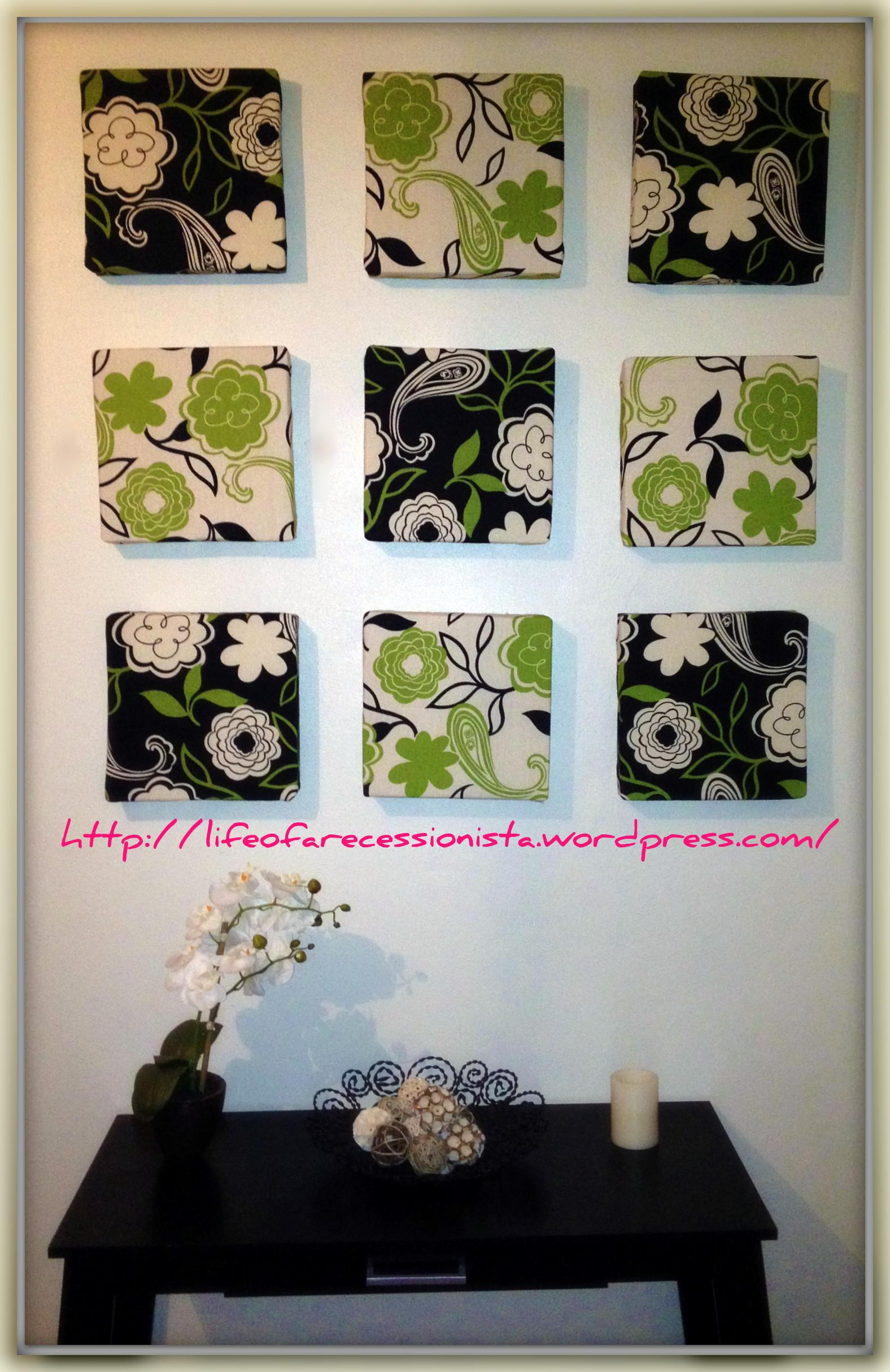 Easy Diy Wall Art Life Recessionista