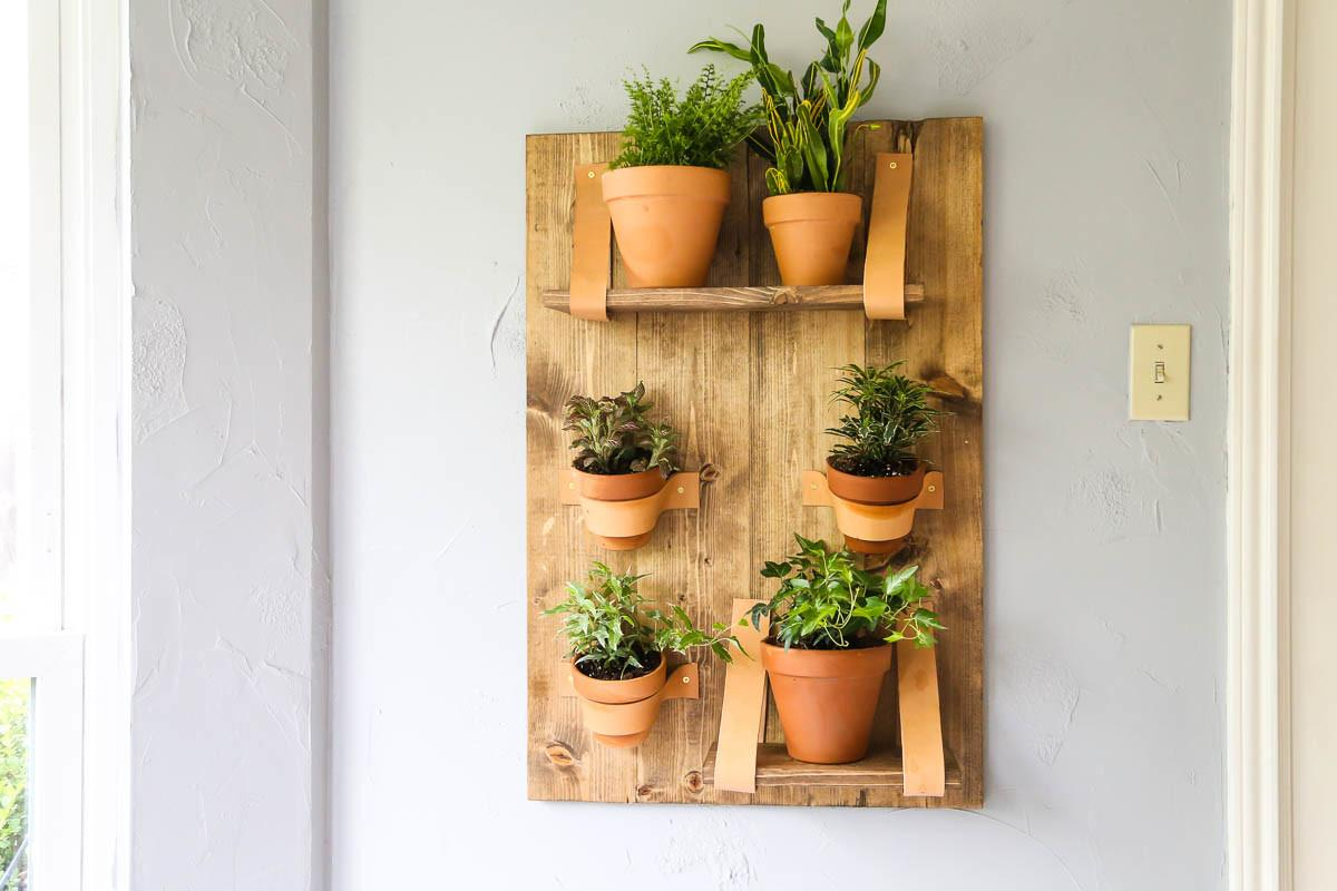 Easy Diy Wall Planter Vertical Love