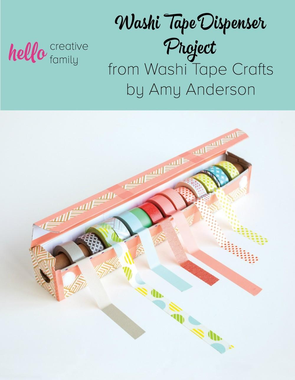 Easy Diy Washi Tape Dispenser Project