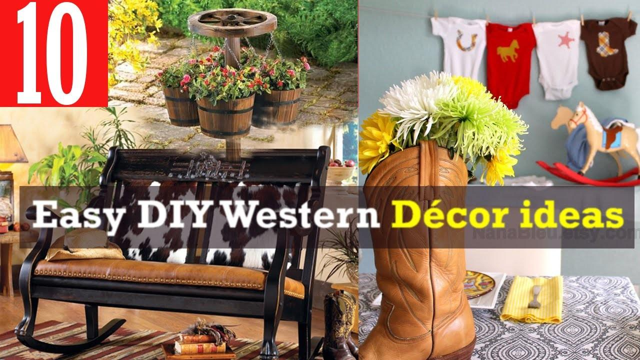 Easy Diy Western Decor