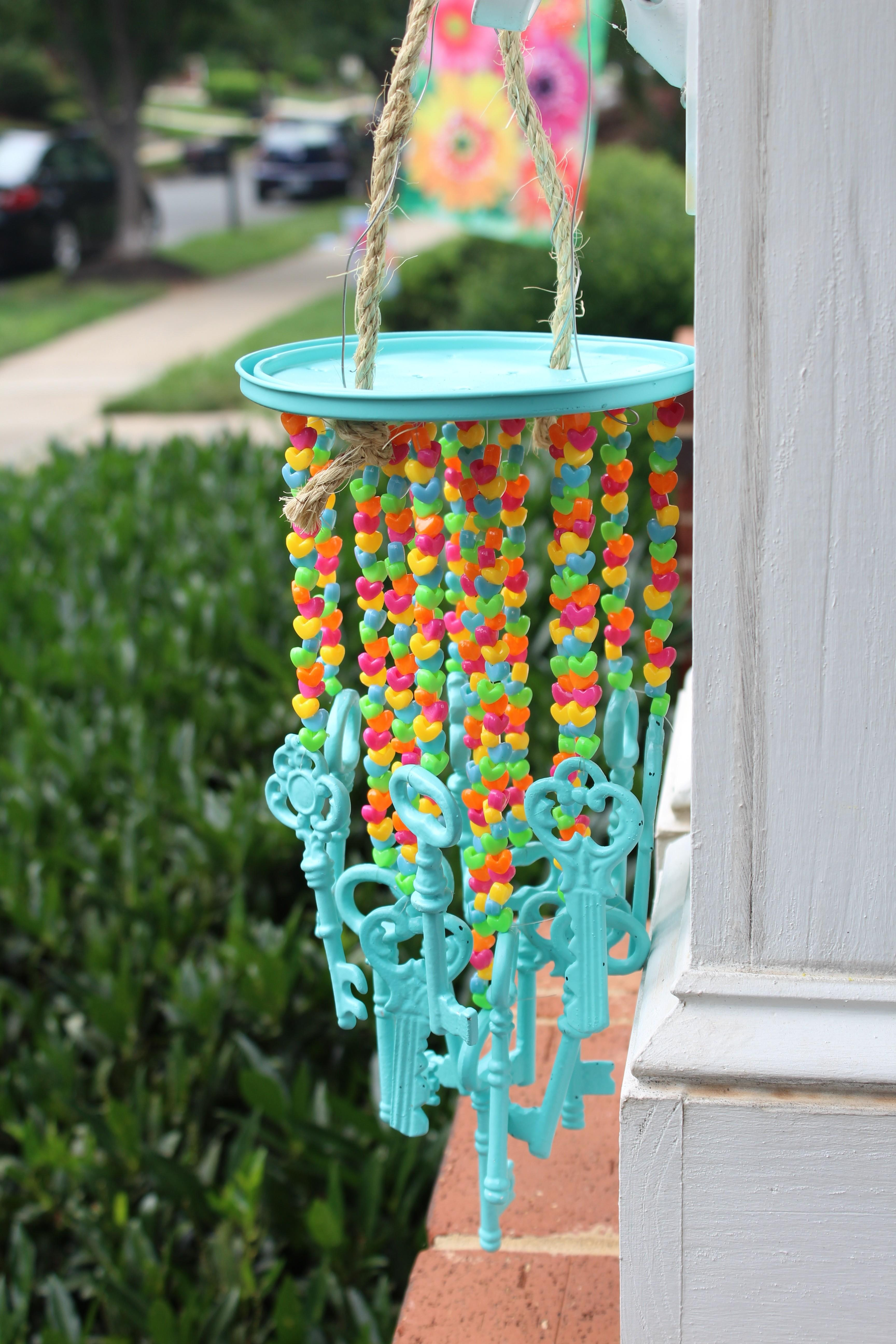 Easy Diy Wind Chime Simple Stylings
