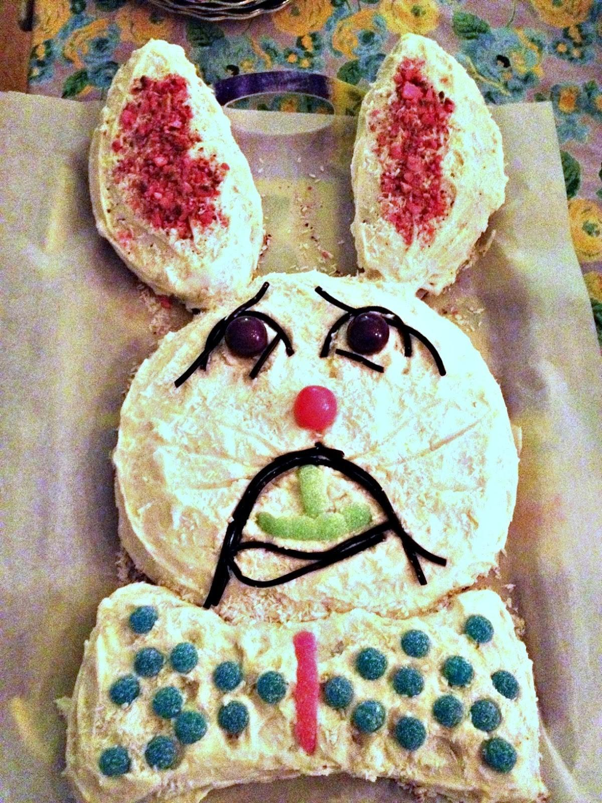 Easy Easter Bunny Cake Fun Make Kids