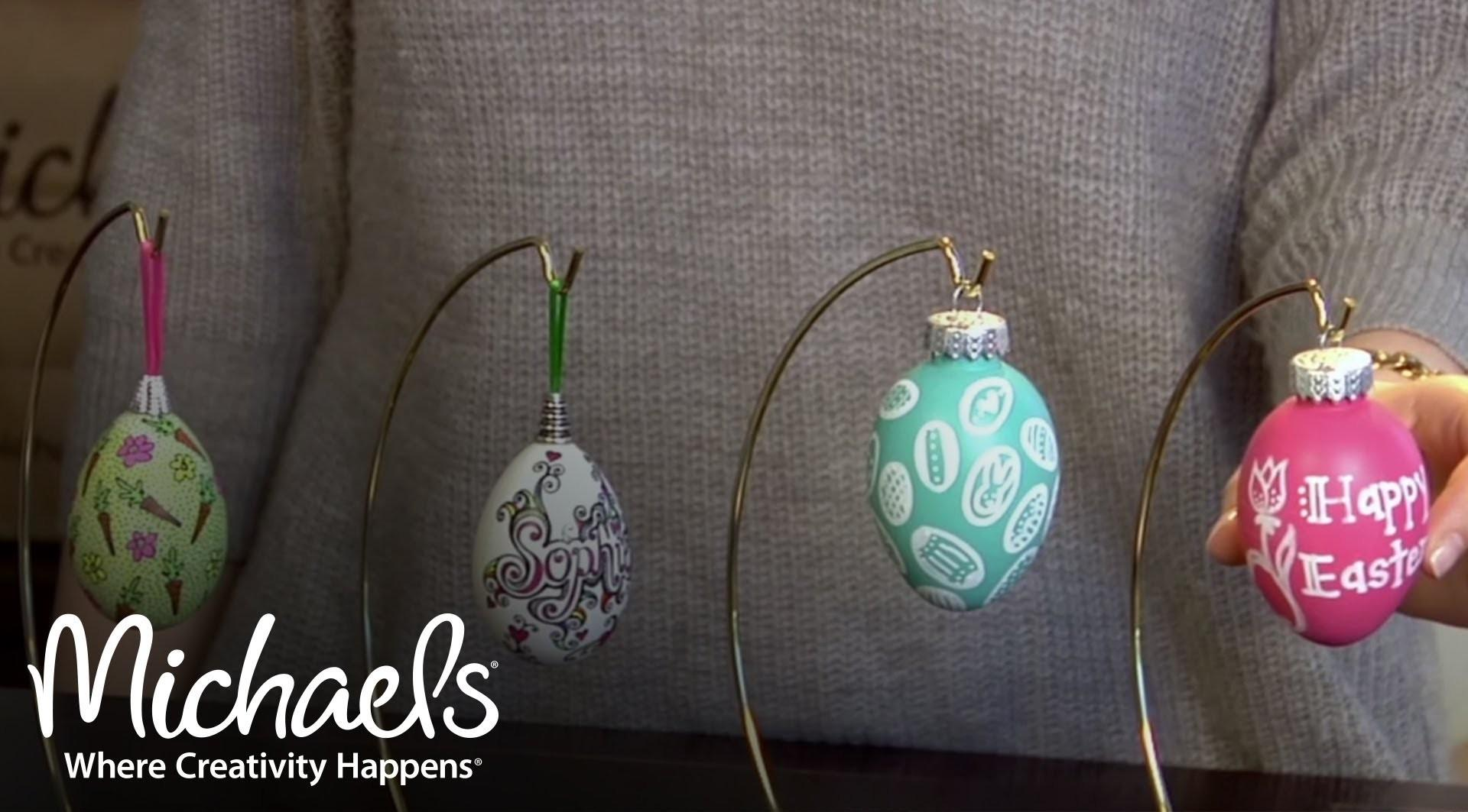 Easy Easter Egg Craft Ideas Projects Decor