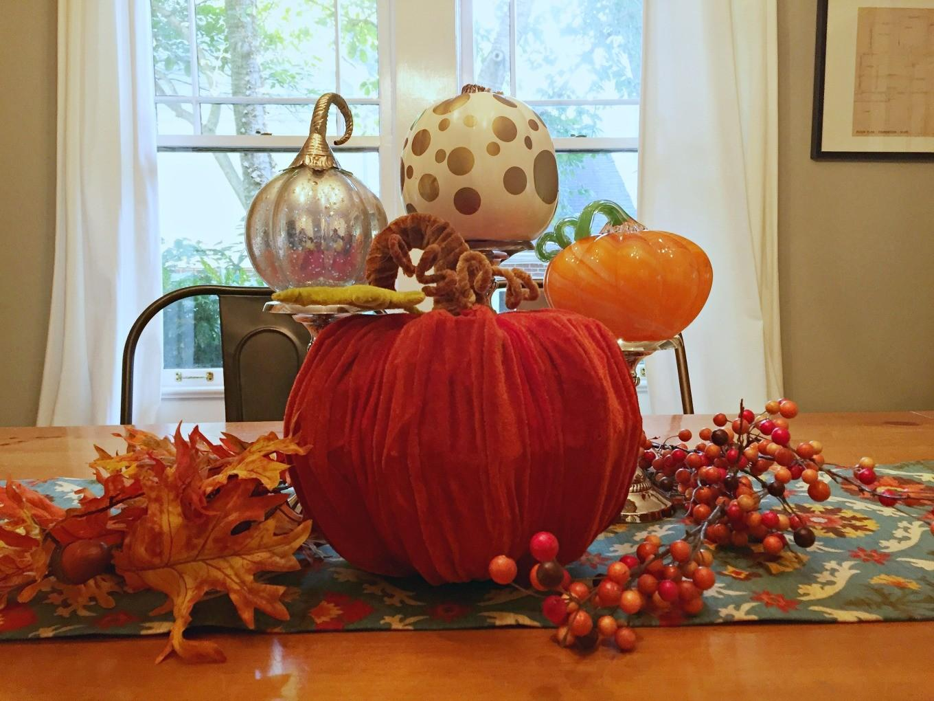 Easy Fall Centerpiece Diy Bungalow