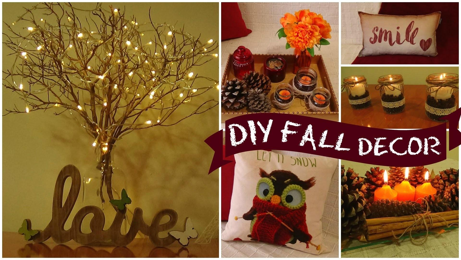Easy Fall Decor Diy Crafthubs Room Ideas Home Idolza