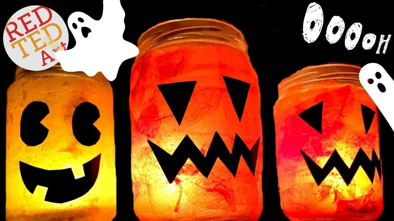Easy Halloween Luminary Great Jack Lantern Diy
