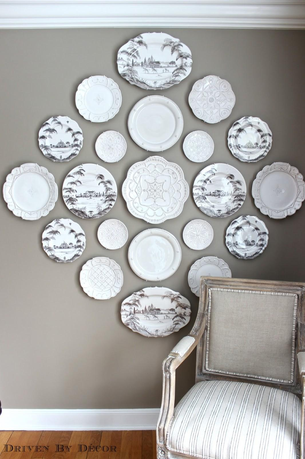 Easy Hanging Plates Wall Driven