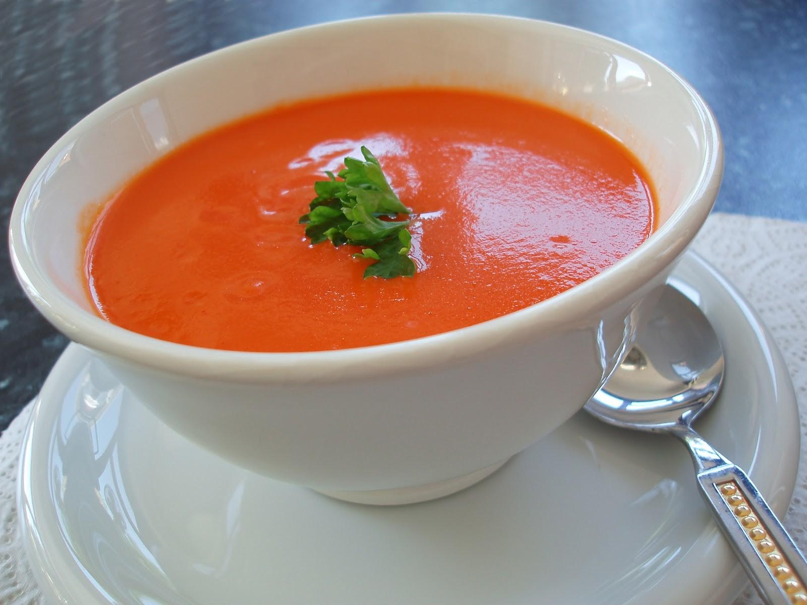 Easy Healthy Appetizer Recipe Tomato Soup