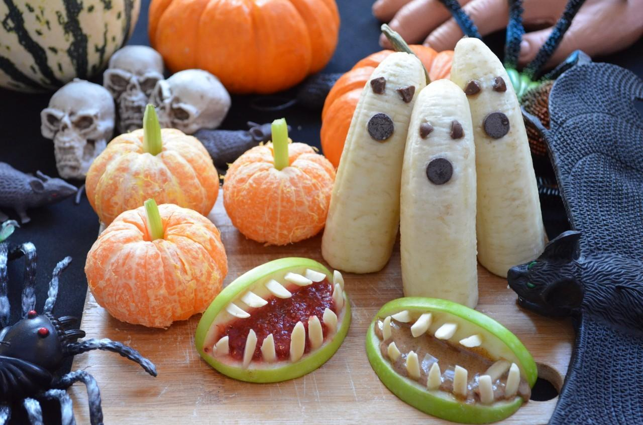 Easy Healthy Diy Halloween Treats Fablunch