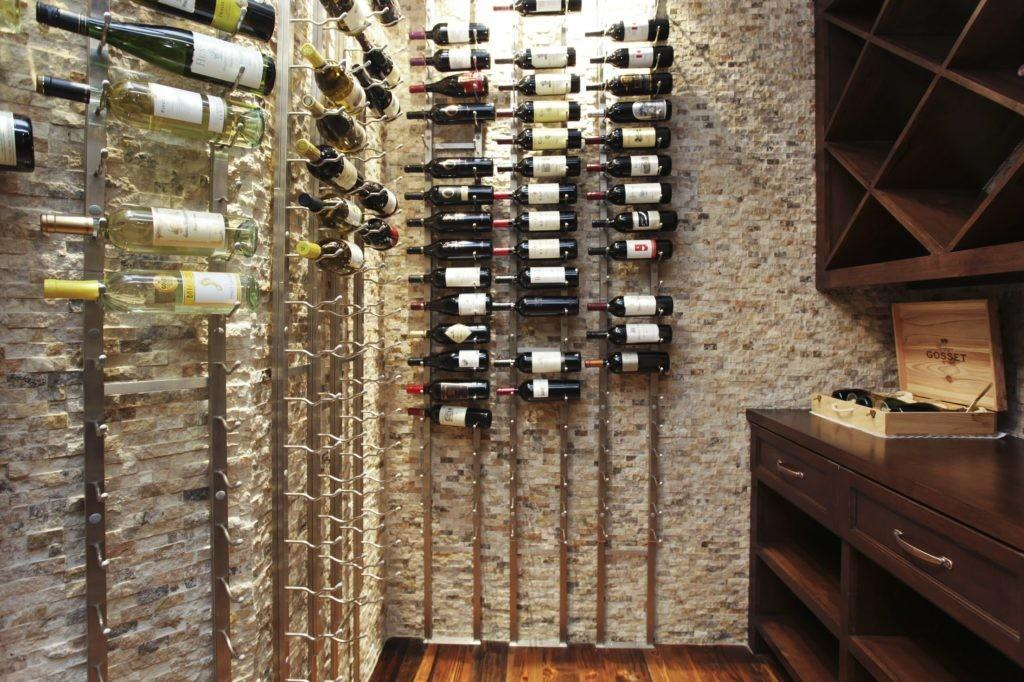 Easy Home Dead Spot Decoration Horizontal Wine Rack