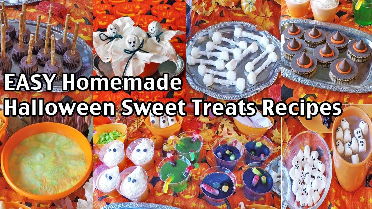 Easy Homemade Halloween Party Food Recipes Ideas