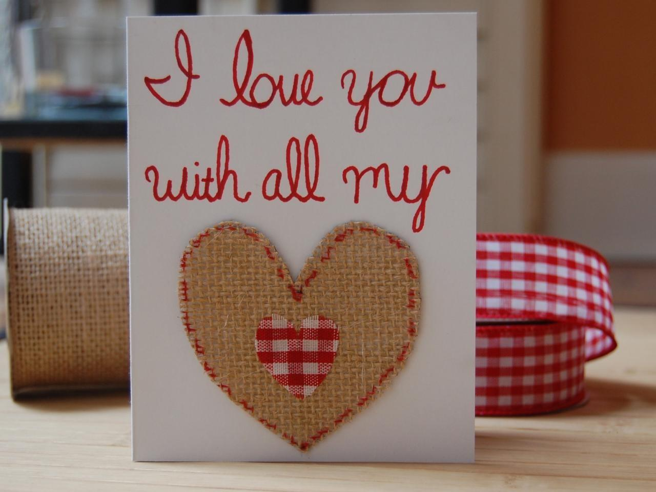 Easy Homemade Valentine Day Cards Diy Network Blog