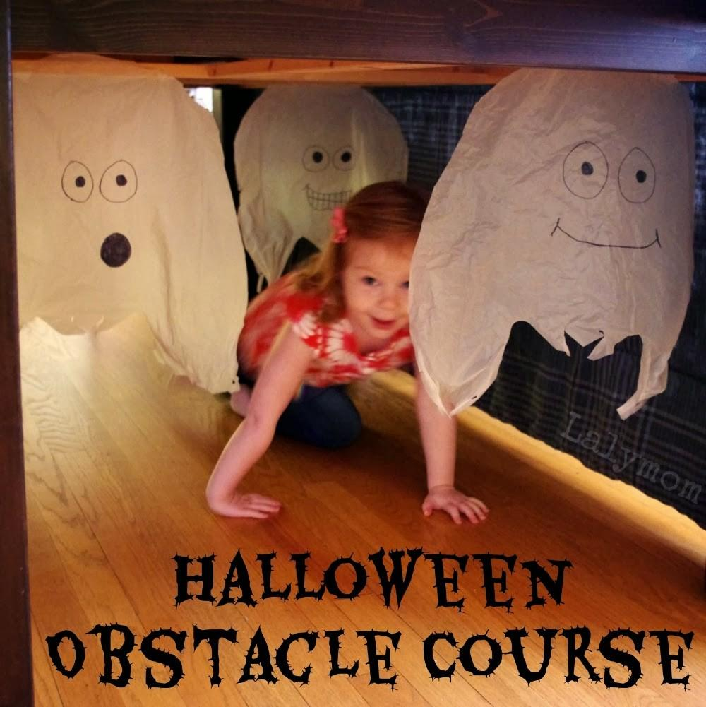 Easy Indoor Halloween Obstacle Course Kids Lalymom