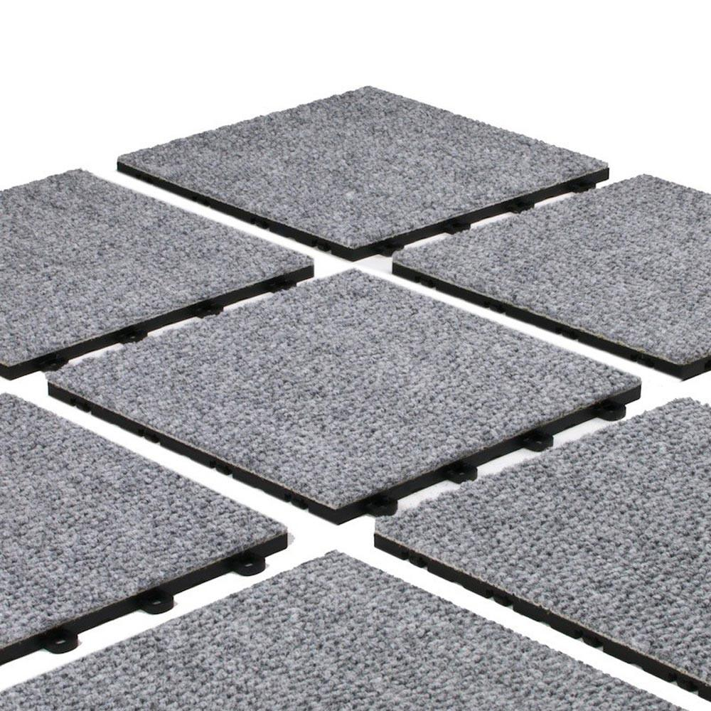 Easy Installation Interlocking Carpet Tiles