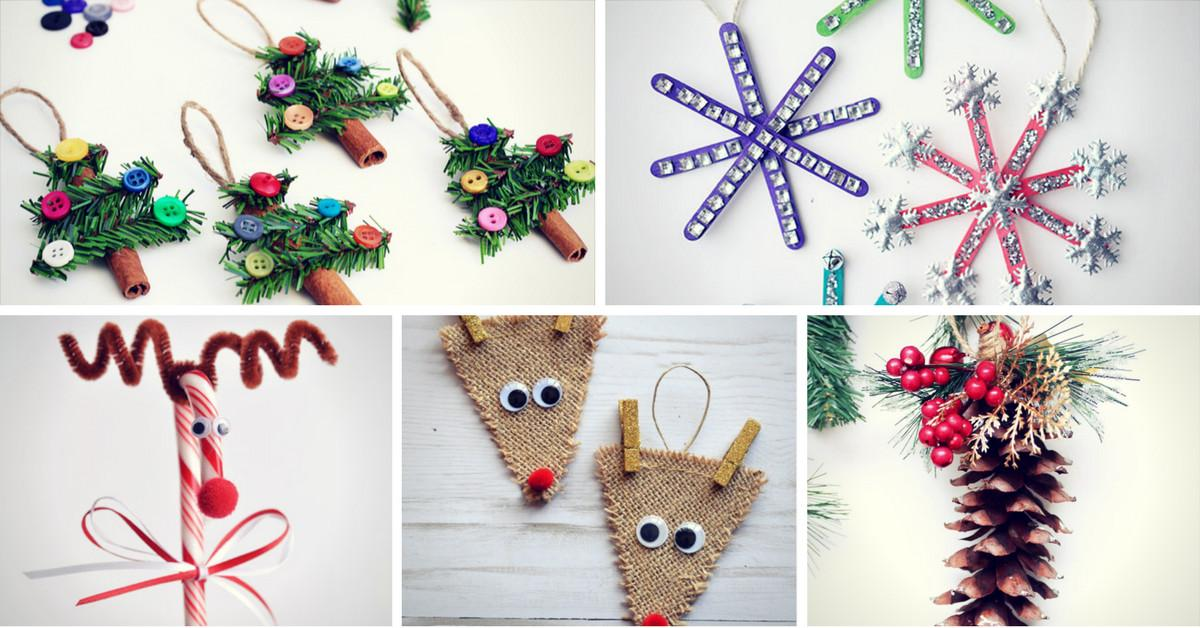 Easy Last Minute Diy Christmas Crafts Homelovr