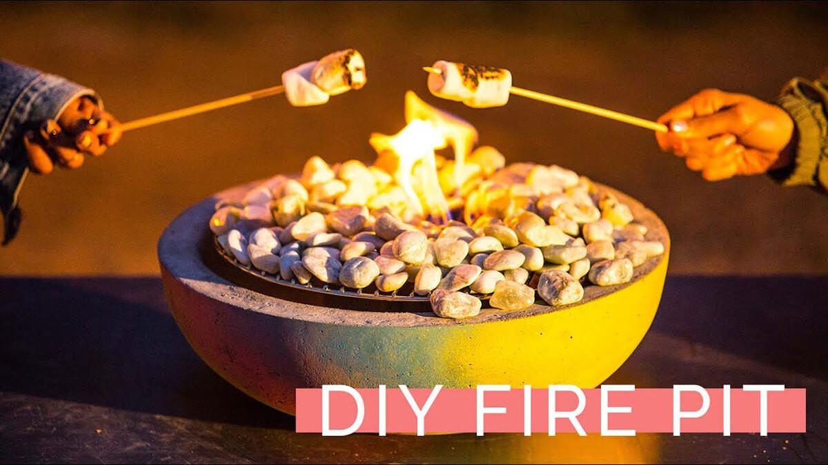 Easy Make Diy Table Top Fire Bowls Decor